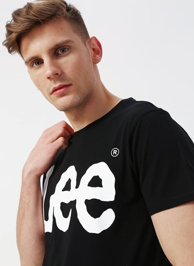 Lee&Wrangler Tişört Siyah
